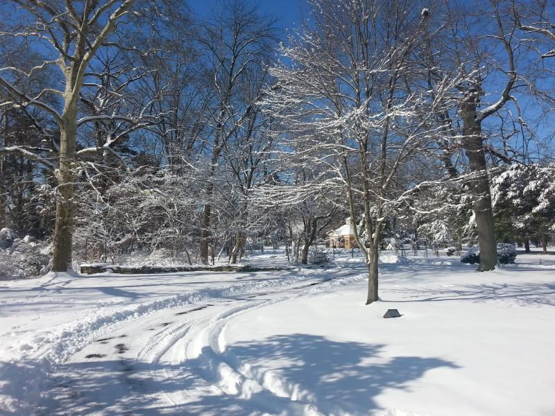 Glen Foerd winter landscape